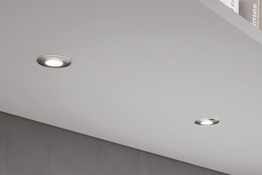 Led verlichting: spots inbouwdiameter 30 mm